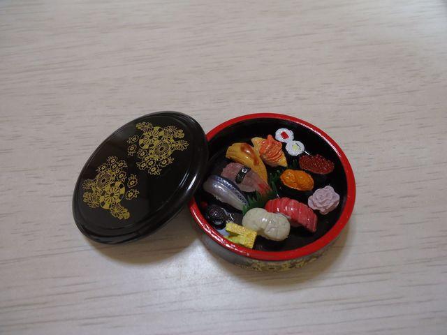レアなぷちサンプル「寿司桶」