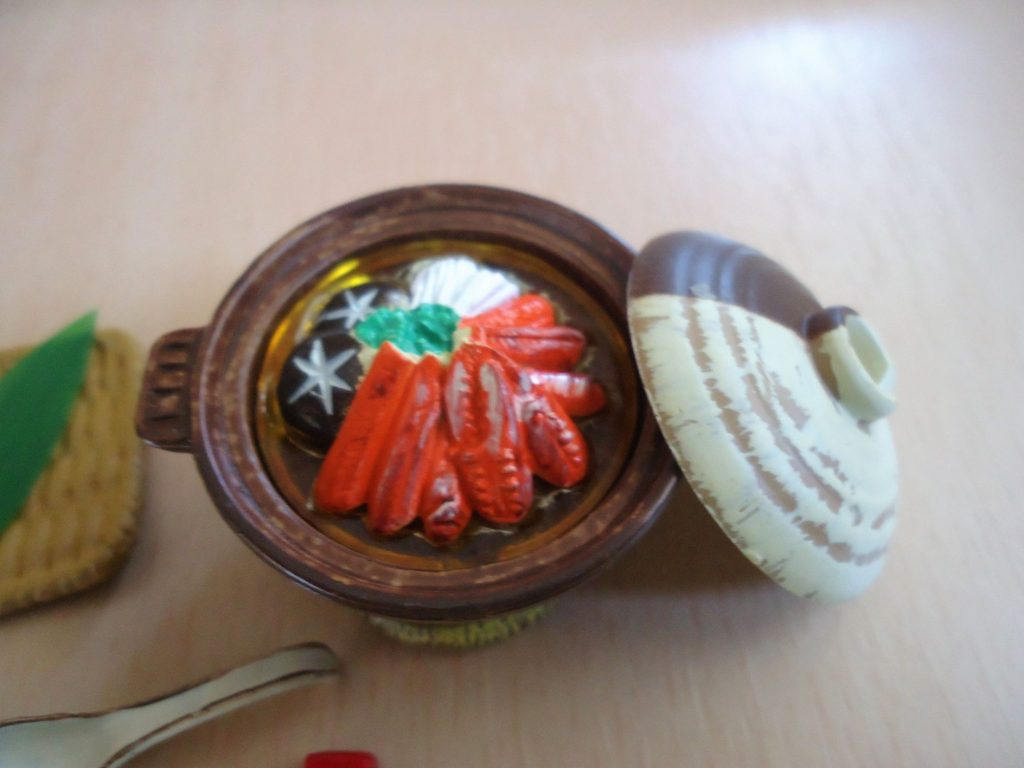 リーメント ぷちサンプルシリーズ第7弾「和食三昧」五、蟹鍋