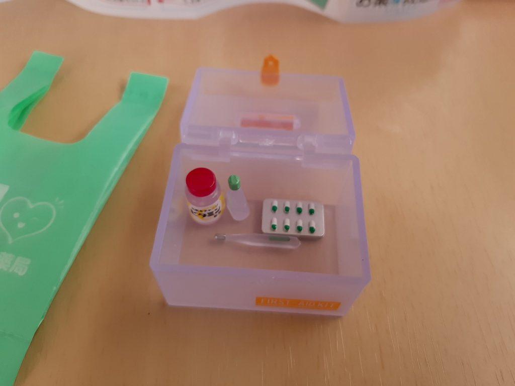お薬と救急箱ウイルスケア
