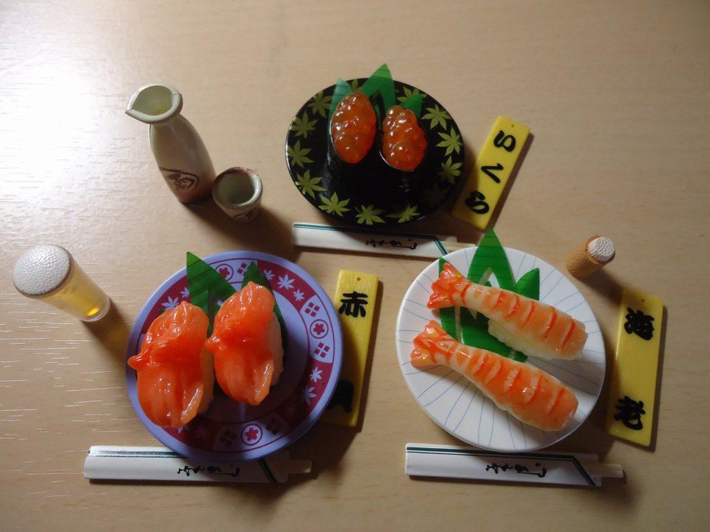ぷちサンプルシリーズ5-回転寿司
