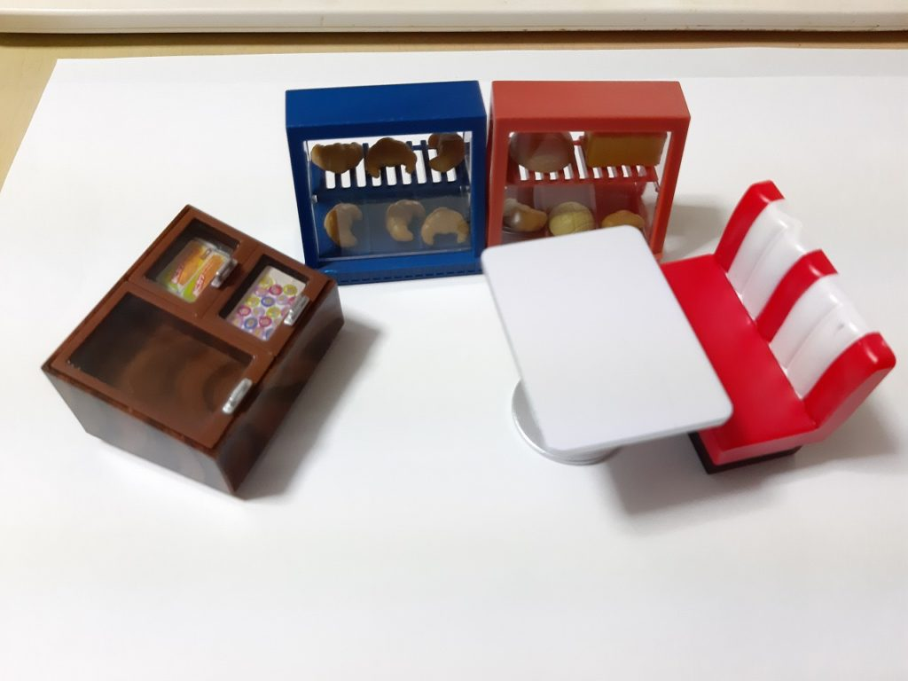 アメリカンダイナーマスコット&ミニ駄菓子屋マスコット